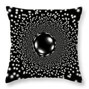 Mystery Sphere Throw Pillow