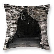 Mystery Way Throw Pillow