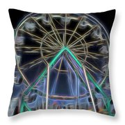 Mystery Wheel - 1 Throw Pillow