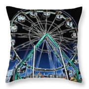 Mystery Wheel - 2 Throw Pillow