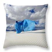 Mystic Blue 11 Throw Pillow