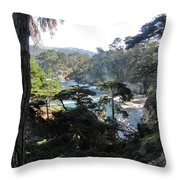 Mystic Bridge Throw Pillow