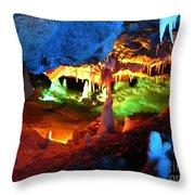 Mystic Caverns Throw Pillow