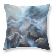 Mystic Chasm Throw Pillow