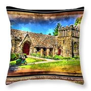 Mystic Church - Featured In Comfortable Art Group Throw Pillow