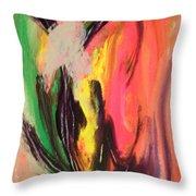 Mystic Fire Throw Pillow