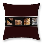 Mystic Fractures Ill Throw Pillow