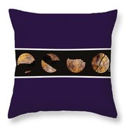 Mystic Fractures Iv Throw Pillow