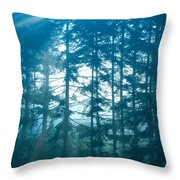 Mystic Light Throw Pillow