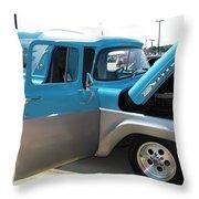 Mystic Magic Ford F100 Throw Pillow