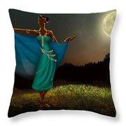 Mystic Moonlight V1 Throw Pillow