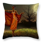 Mystic Moonlight V2 Throw Pillow