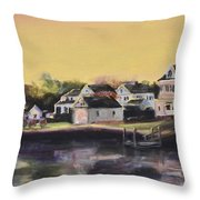 Mystic Morning Throw Pillow