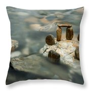 Mystic River Iv Throw Pillow
