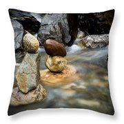 Mystic River S2 Vii Throw Pillow