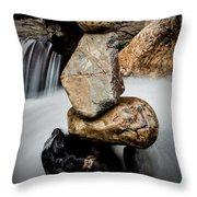 Mystic River S2 Xi Throw Pillow