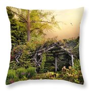 Mystical Arbor Throw Pillow