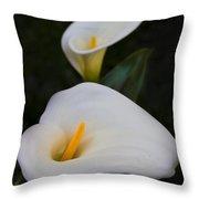 Mystical Calla Throw Pillow