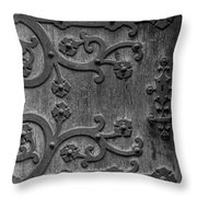 Mystical Door Throw Pillow