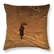 Mystical Journey Of The Shadow Of Your Soul In Extraneous World Throw Pillow