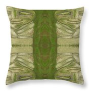 Mystical Stone Statues Throw Pillow