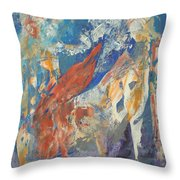 Mythical Creatures Throw Pillow