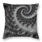 Mythical Tail  Throw Pillow