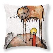 Mythos 3  Throw Pillow