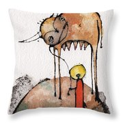 Mythos 3  Throw Pillow by Mark M  Mellon