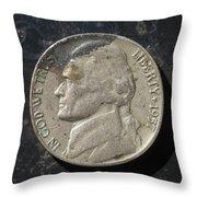 N 1957 A H Throw Pillow