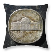 N 1963 A T Throw Pillow