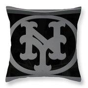 N Y Throw Pillow