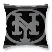 N Y Throw Pillow by Rob Hans