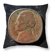 N1971 A H Throw Pillow