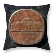 N1971 A T Throw Pillow
