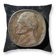 N1974 A H Throw Pillow