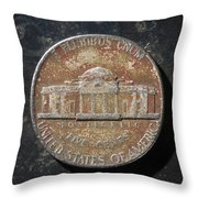 N1974 A T Throw Pillow