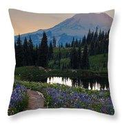 Naches Loop Meadows Throw Pillow