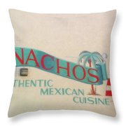Nachos Throw Pillow