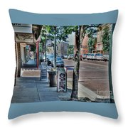 Nacogdoches Throw Pillow