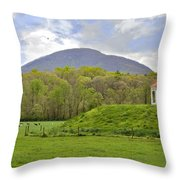 Nacoochee Indian Mound Throw Pillow