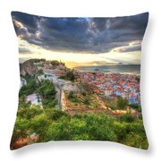 Nafplion Throw Pillow