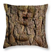 Naked Wood Nymph Throw Pillow