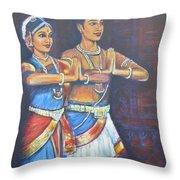 Namaskaaramu Throw Pillow