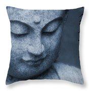 Namaste Buddha Throw Pillow