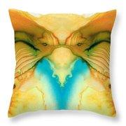 Namaste - Divine Art By Sharon Cummings Throw Pillow
