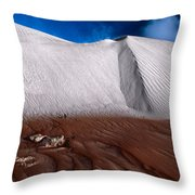 Nambung Desert Floor Throw Pillow