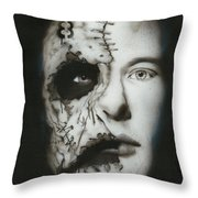 Nameless Throw Pillow