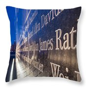 Names Throw Pillow