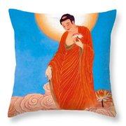 Namo Amitabha Buddha 15 Throw Pillow